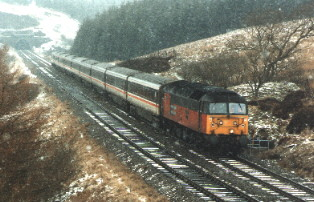 47745 with Rise Hill Tunnel behind