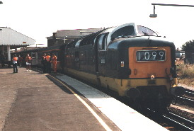 1O99 on arrival at Ramsgate